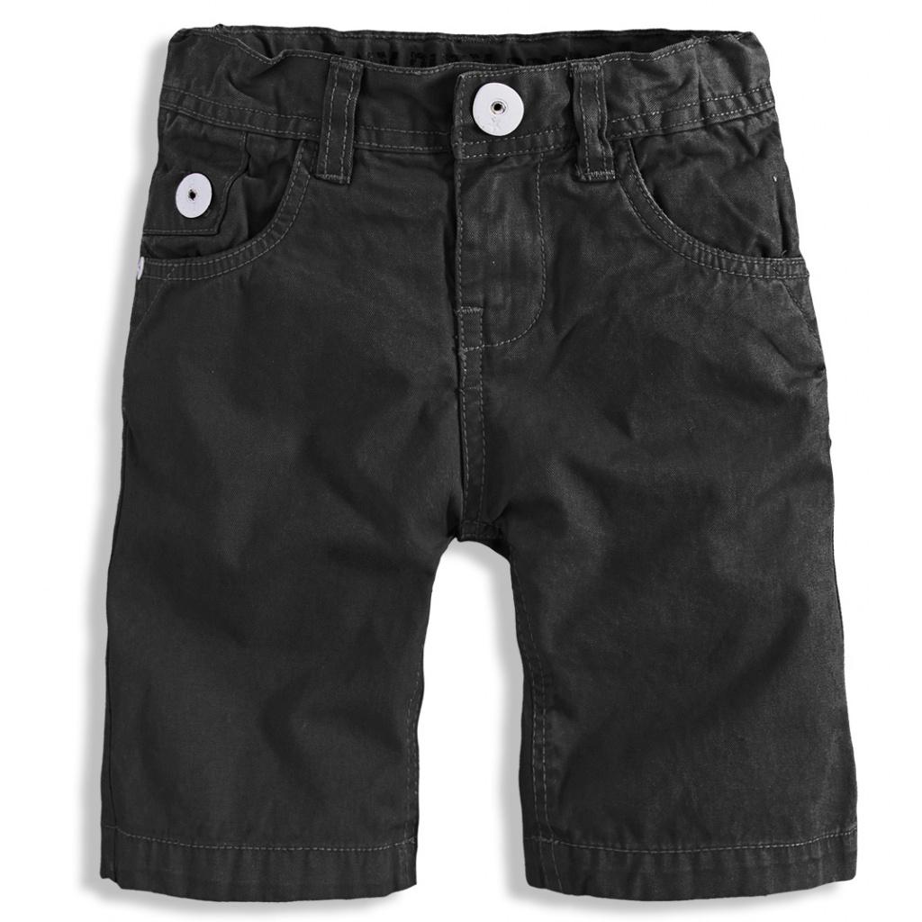 Dětské šortky PEBBLESTONE LOS ANGELES černé