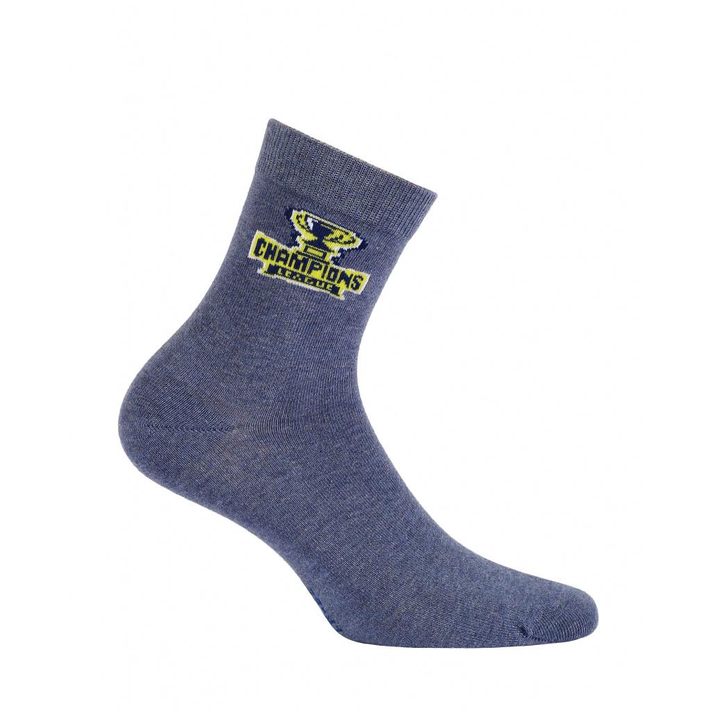 Chlapecké ponožky WOLA CHAMPIONS modré