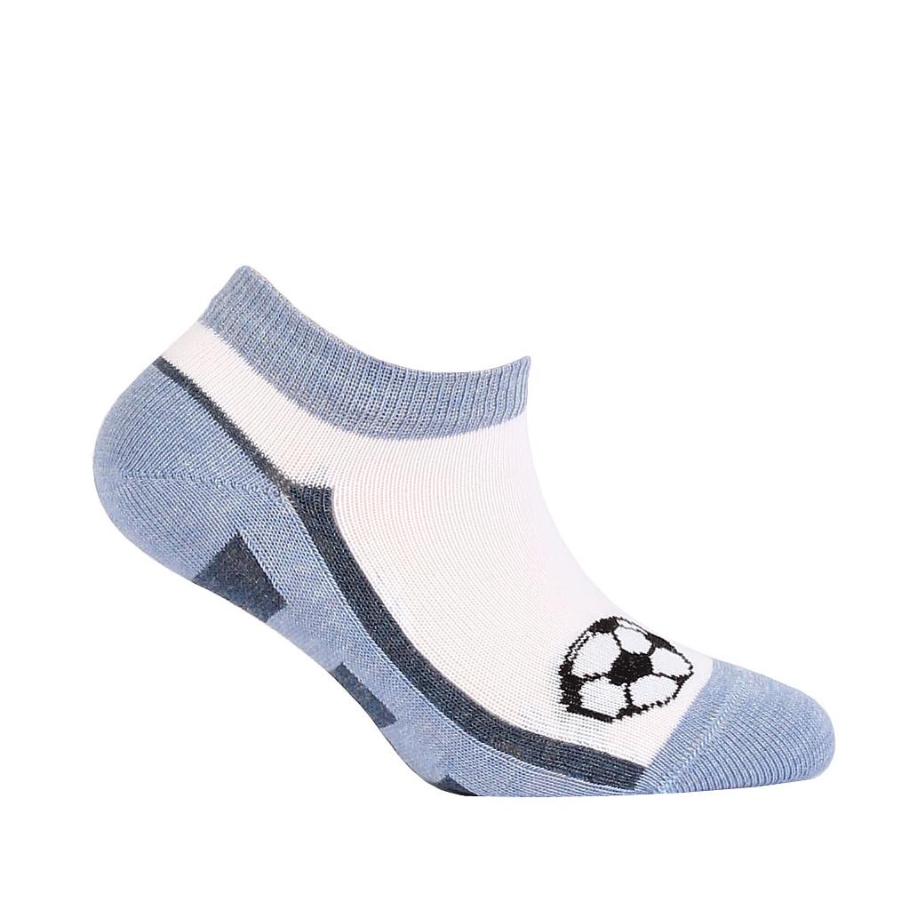 457005c8e48 Chlapecké kotníkové ponožky WOLA MÍČ modré