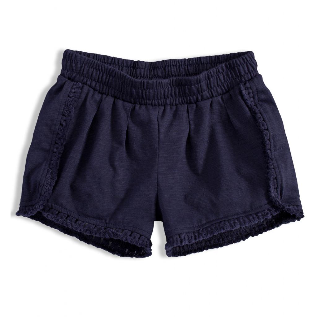 Dívčí šortky KNOT SO BAD tmavě modré