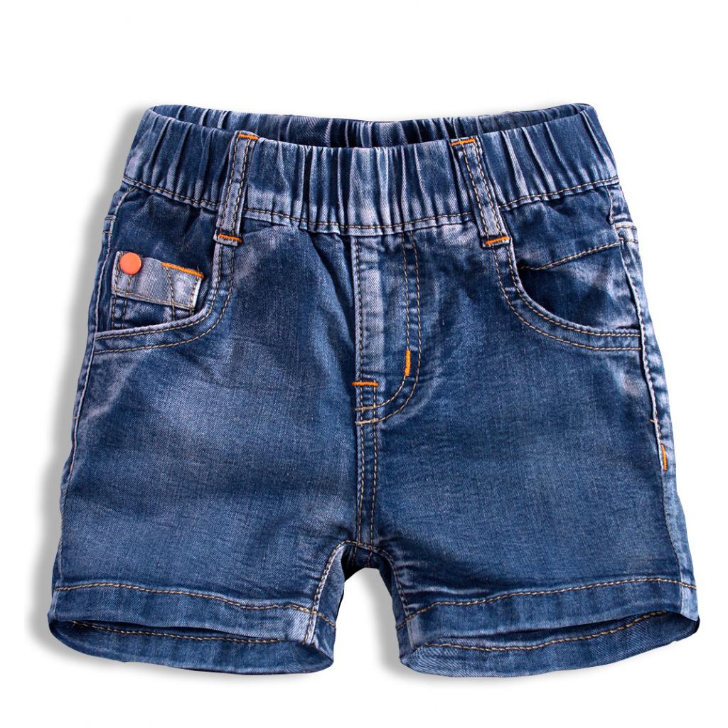 Chlapecké džínové šortky KNOT SO BAD TRIP tmavě modré
