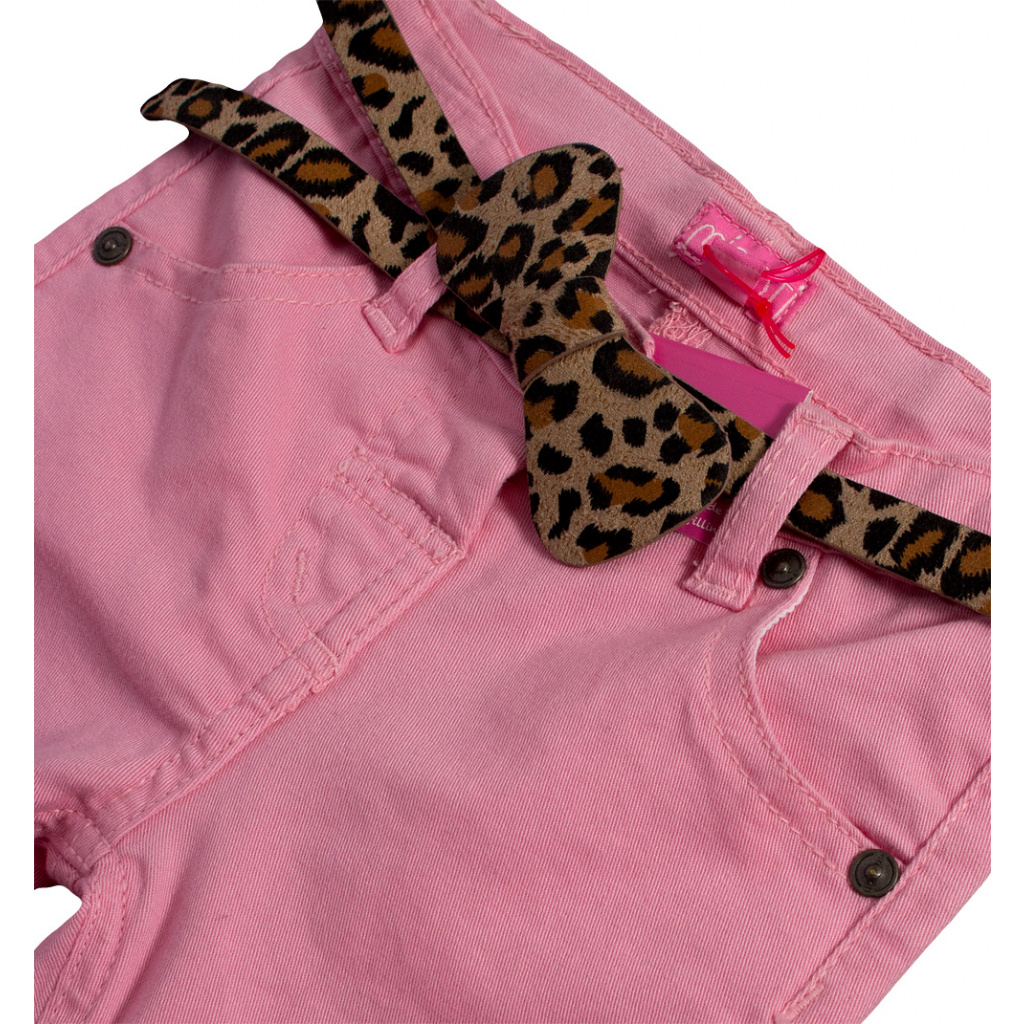 58a16cddd79 Dívčí barevné džíny MINOTI PARTY světle růžové ...