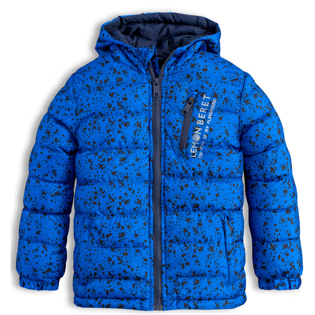 Chlapecká zimní bunda LEMON BERET PLAYGROUND modrá  a710a98364