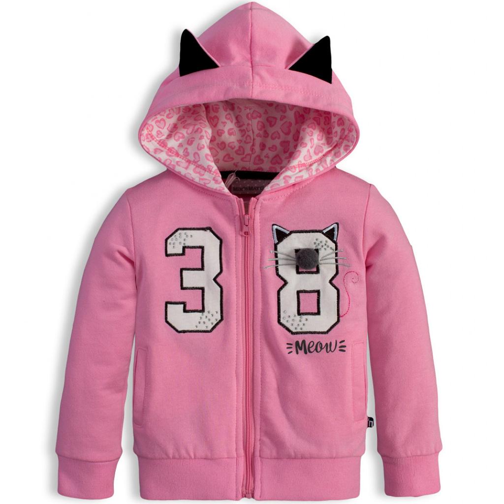 cb9d2927756fb Dívčí mikina Mix´nMATCH MEOW růžová   BENITO.CZ