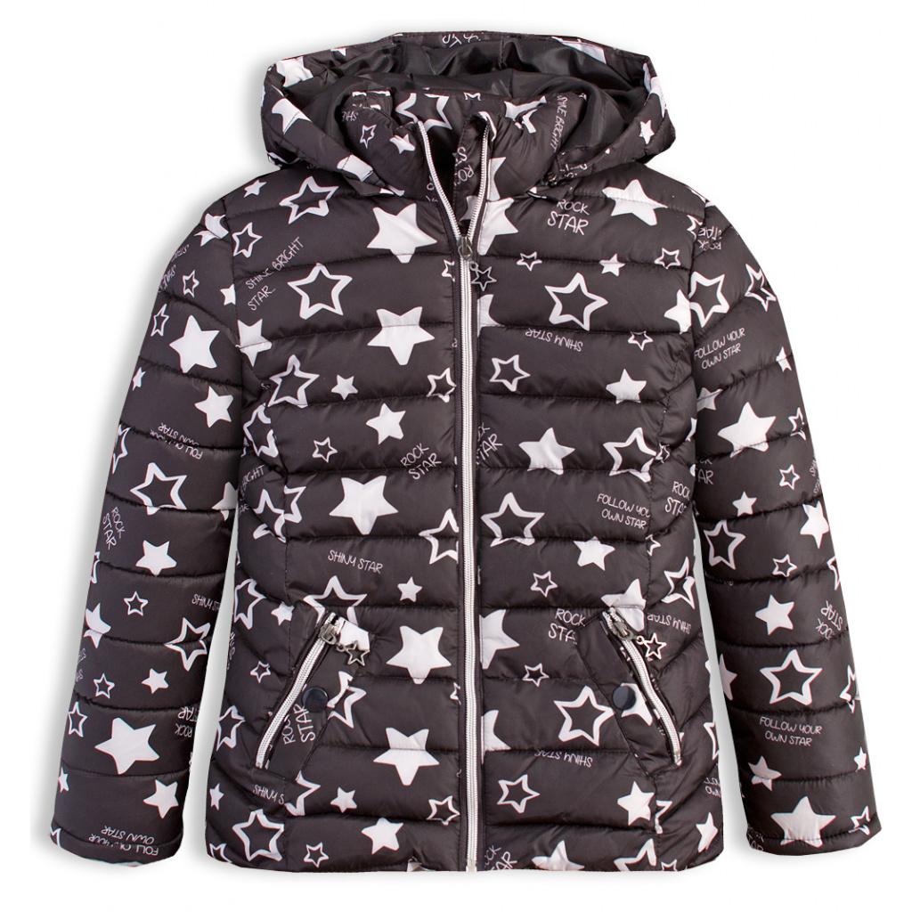 Dívčí zimní bunda LOSAN SHINY STAR černá