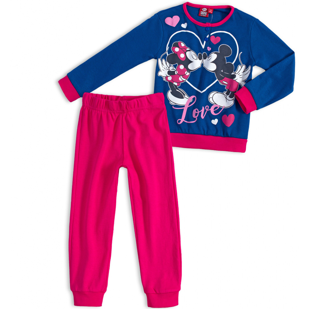 35636fd98710 Dívčí pyžamo DISNEY MICKEY MOUSE MICKEY a MINNIE modré