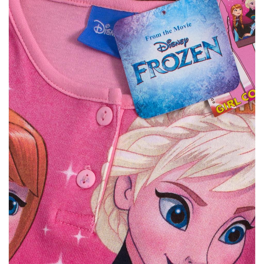 aa521d5cf8c7 Dívčí pyžamo DISNEY FROZEN ANNA a ELSA světle růžové ...