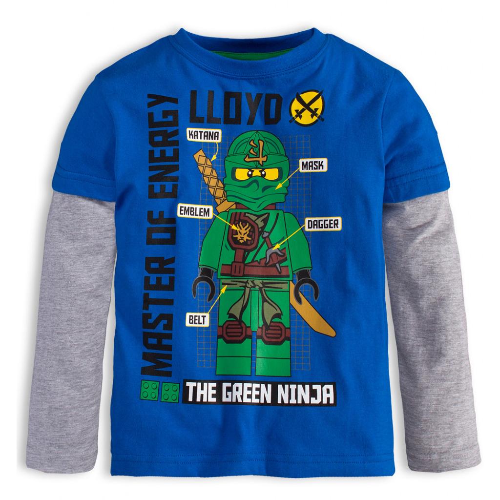 Chlapecké tričko LEGO NINJAGO MASTERS OF ENERGY modré aa6399f97e