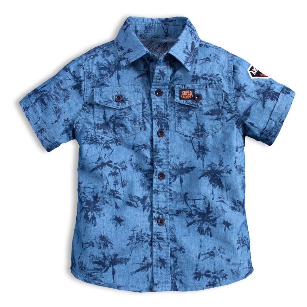 Chlapecká košile KNOT SO BAD AMAZING modrá