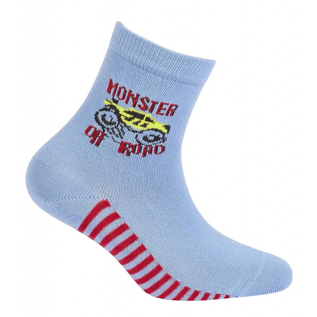 Chlapecké ponožky s obrázkem GATTA OFF ROAD světle modré
