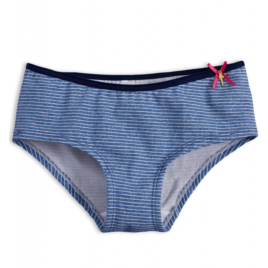 Dívčí kalhotky KEY PROUŽKY modré
