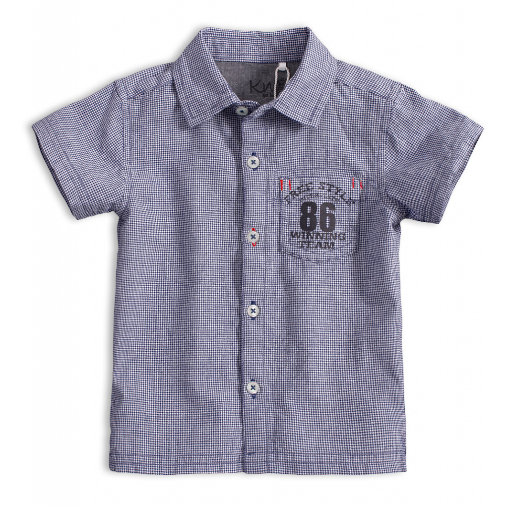 Dětská košile KNOT SO BAD FREE STYLE tmavě modrá