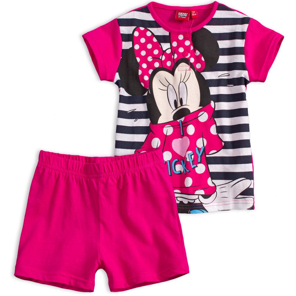 e81917088bb4 Dívčí letní pyžamo Disney MINNIE I LOVE MICKEY růžové