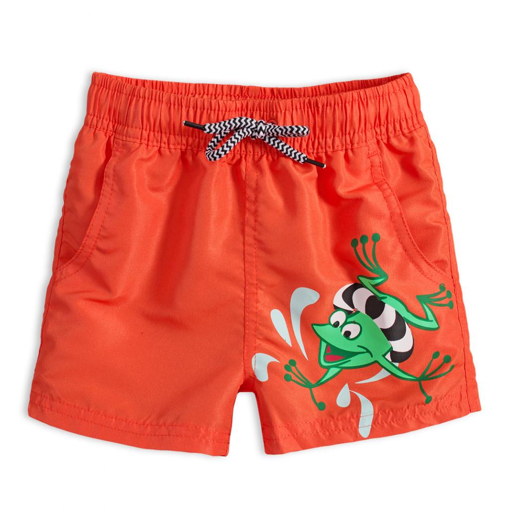 Chlapecké plavky KNOT SO BAD FROG oranžové