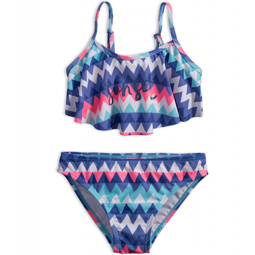 Dívčí plavky DIRKJE SUNSET modré