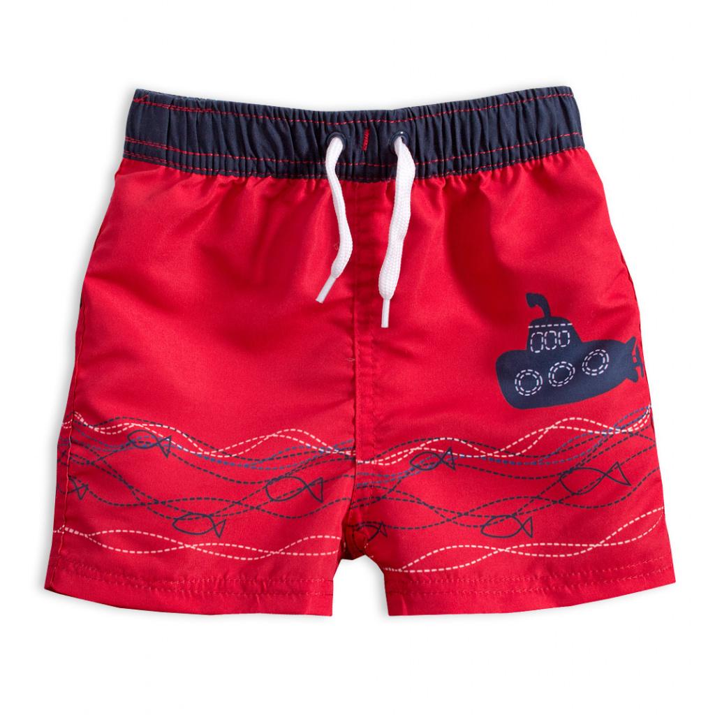 Dětské plavky KNOT SO BAD PONORKA červené