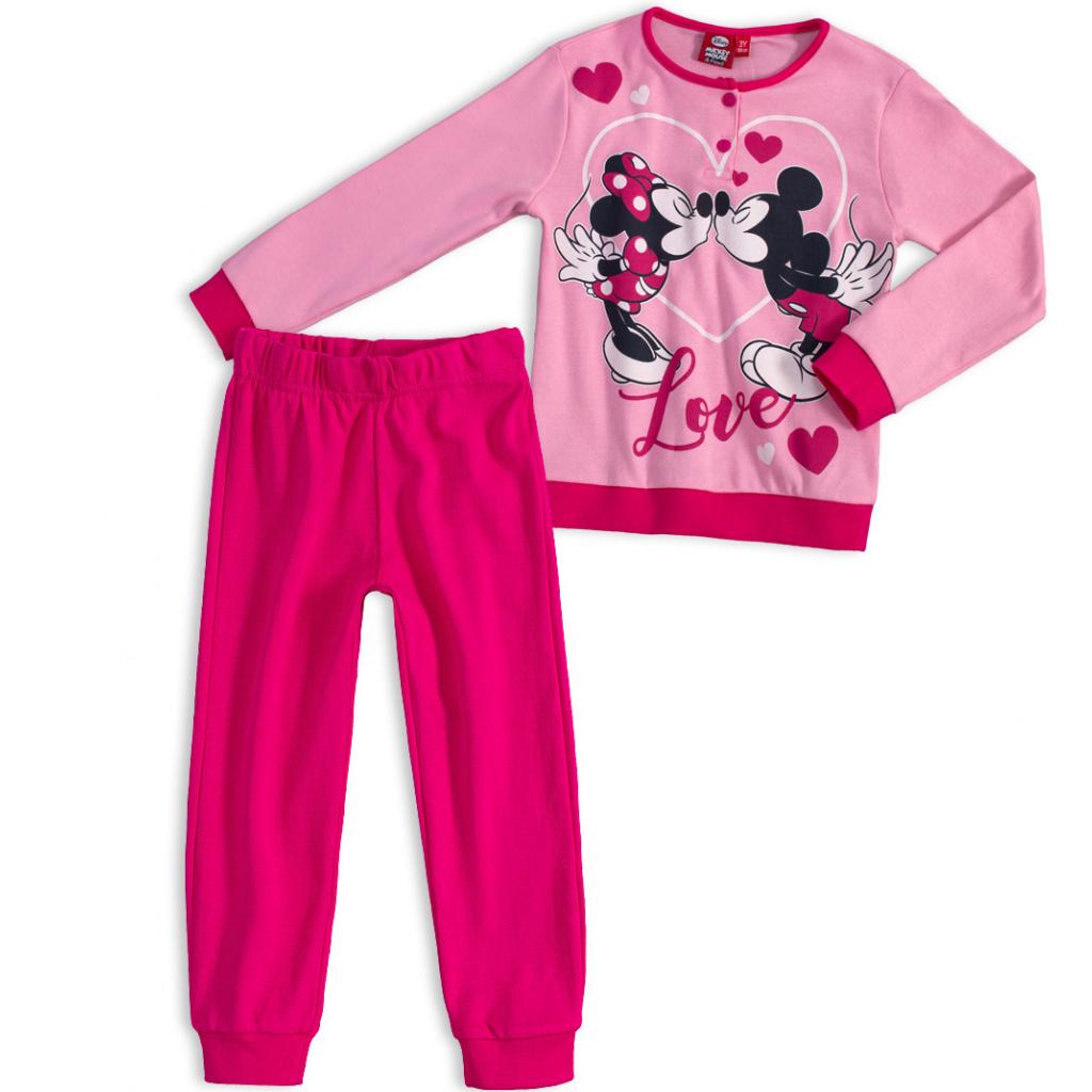 Dívčí termo pyžamo MICKEY MOUSE růžové