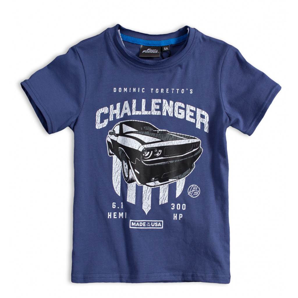 Chlapecké tričko CHALLENGER modré