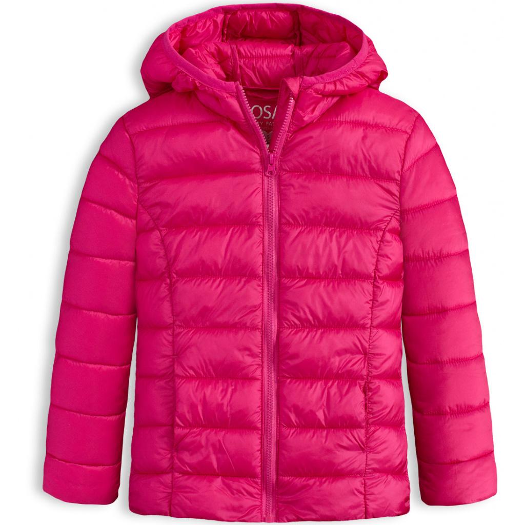 Dívčí prošívaná bunda LOSAN SCHOOL růžová