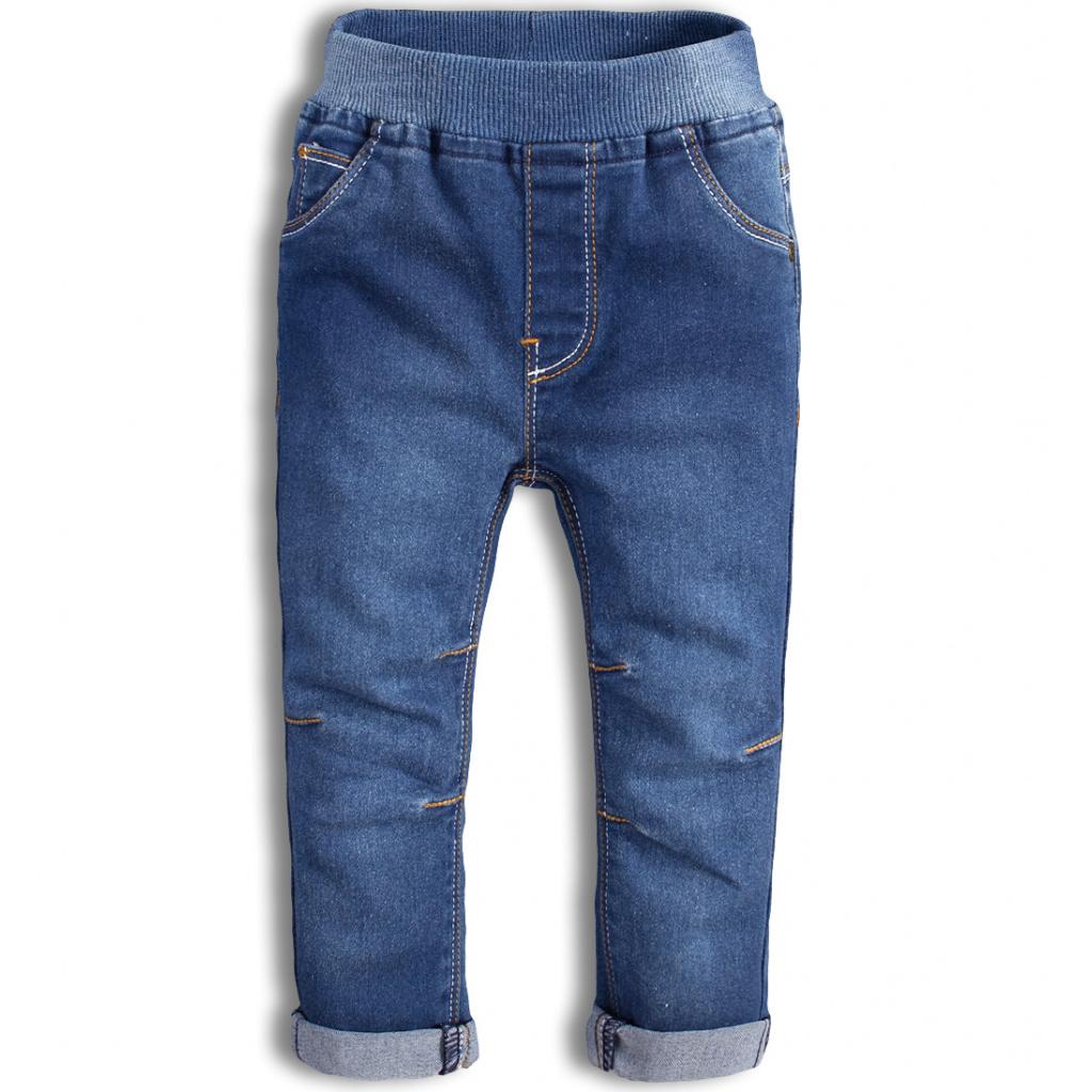Dětské kalhoty KNOT SO BAD WORK modré