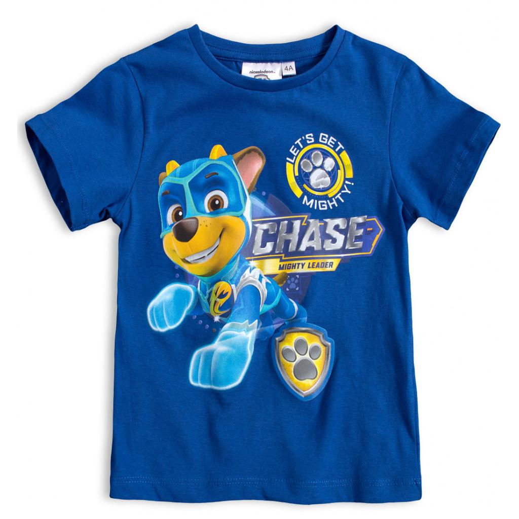 Chlapecké tričko PAW PATROL CHASE modré