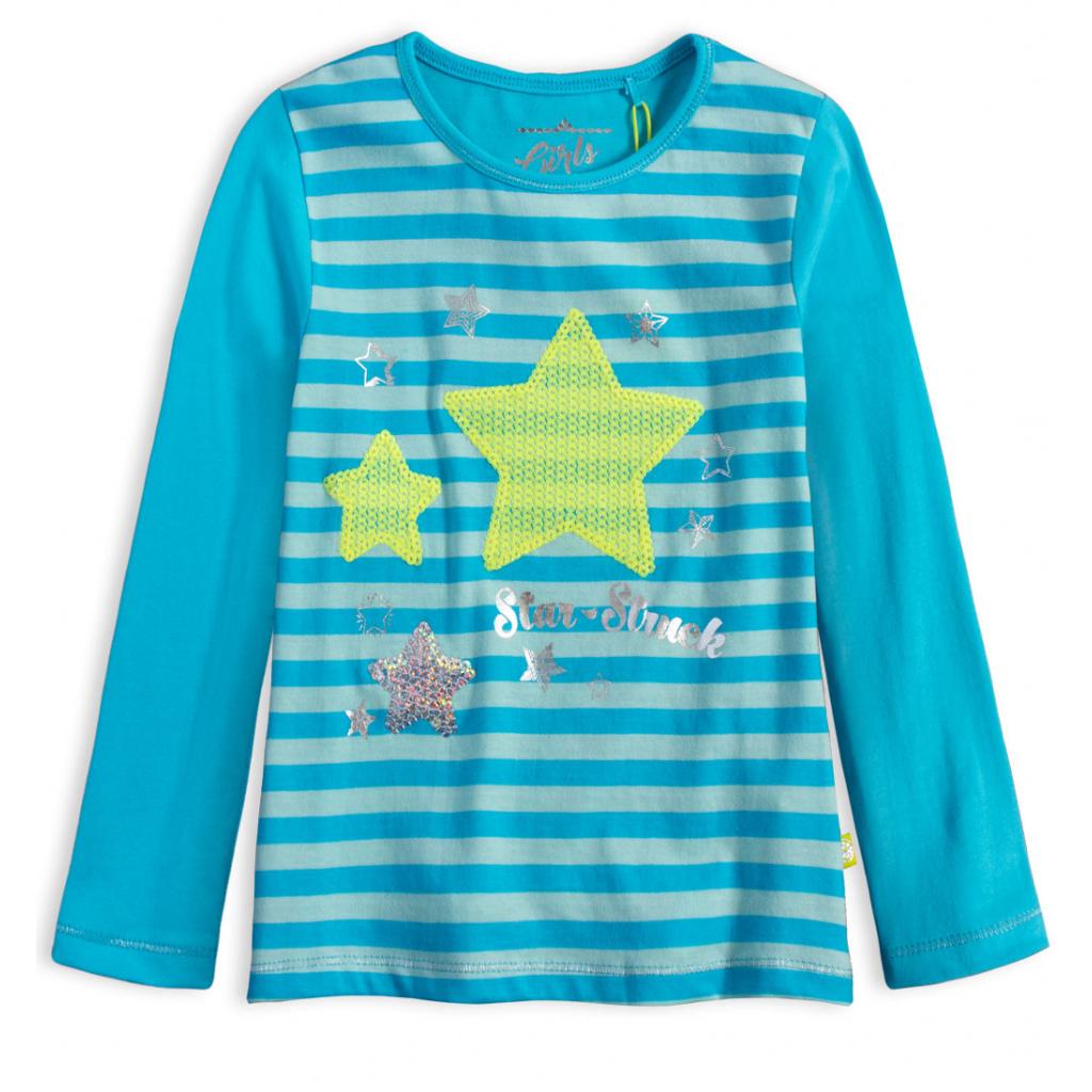 Dívčí tričko LEMON BERET STARSTRUCK tyrkysové