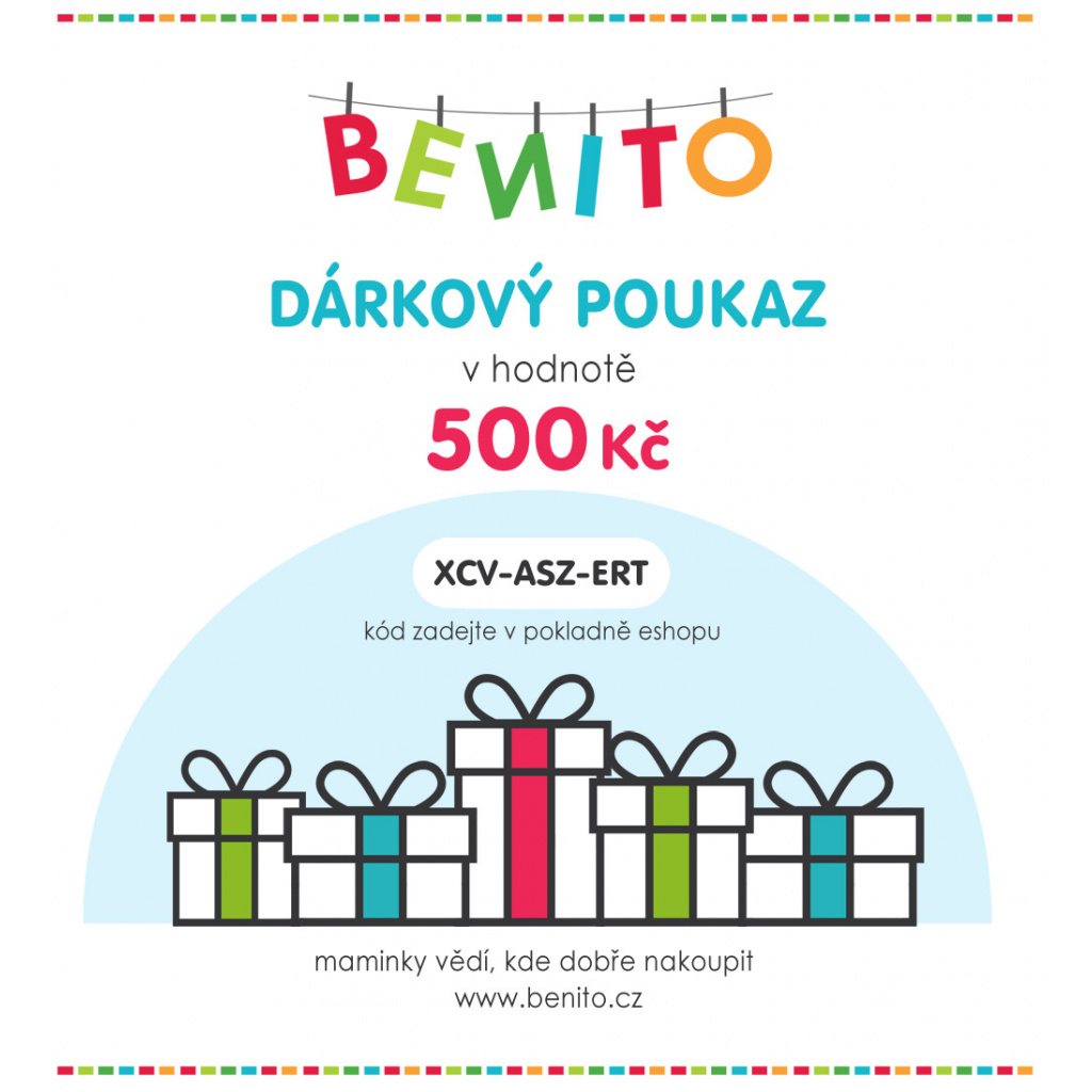 DÁRKOVÝ POUKAZ 500