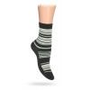 Dětské ponožky ABS vzor PROUŽKY khaki