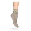 Dětské ponožky ABS vzor PAVUČINA béžové