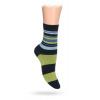 Dětské ponožky ABS vzor PRUHY zelené
