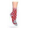 Dětské ponožky ABS vzor MYŠKA červené