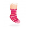 Kojenecké vzorované ponožky PROUŽKY