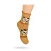 TERMO ponožky vzor MÉĎOVÉ