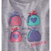 Dívčí tričko s krátkým rukávem FABULOUS