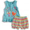Kojenecký set tričko a šortky BABALUNO bright 5