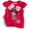 Dívčí tričko s krátkými rukávy Minoti