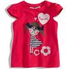 Dívčí tričko s krátkými rukávy Minoti MINOTI