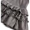 Dívčí šaty DIRKJE STYLISH šedé