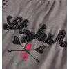 Dívčí triko DIRKJE STYLISH šedé