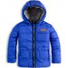 Kojenecká zimní bunda DIRKJE NO RULES modrá