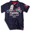 Chlapecké triko s límečkem KNOT SO BAD CRUISING tmavě modré