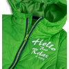 Chlapecká bunda KNOT SO BAD HELLO zelená