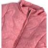 Dívčí zimní bunda KNOT SO BAD PUNTÍKY růžová