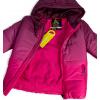 Dívčí zimní bunda LEMON BERET RAINBOW růžová