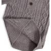Chlapecký svetr KNOT SO BAD STYLE šedý