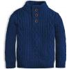 Chlapecký svetr KNOT SO BAD STYLE modrý