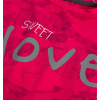 Dívčí triko KNOT SO BAD SWEET LOVE růžové