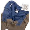 Chlapecké zateplené kalhoty DIRKJE DIVISION béžové