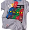 Chlapecké tričko LEGO NINJAGO SPINJITZU šedé