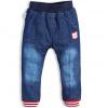 Chlapecké zateplené džíny CANGURINO MEDVÍDEK modré
